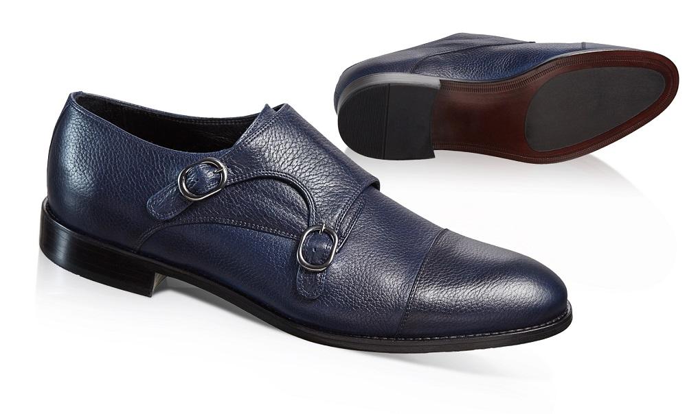 buty skórzane męskie o eleganckim profilu - źródło: http://vistula.pl/buty